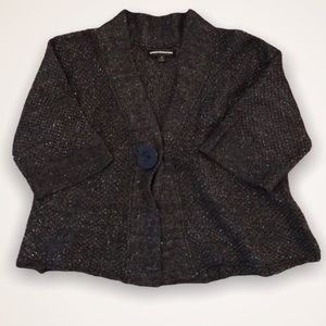 💫4/30 EXPRESS Wool Blend Cropped Sparkly Cardigan
